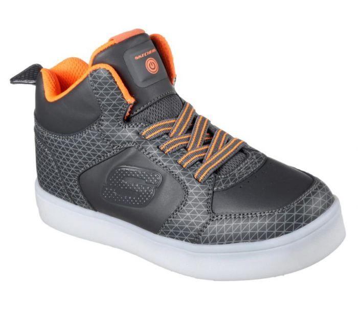 2c0e162ee8b302 Womens, Mens & Kids Performance & Lifestyle Shoes Shop Skechers Kid's Boys  S Lights Energy Lights - Tarvos Grey Online | Skechers New Zealand