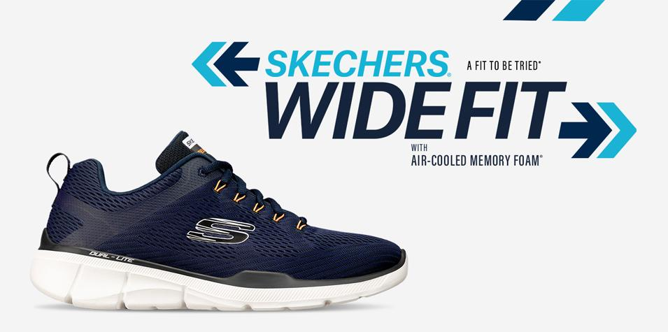 Skechers Wide Fit Footwear